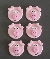 Pig toppers