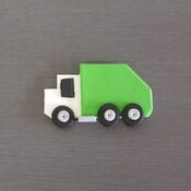 Garbage Truck Cupcake Toppers