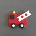 Cupcake decorating Supplies - Fire Truck Cupcake Topper
