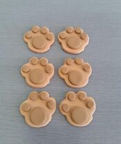Paw Print Cake toppers