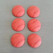 Cricket Ball cake decorations
