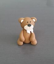 Teddy Bear Cake toppers