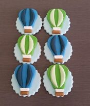 Hot Air Balloon Toppers