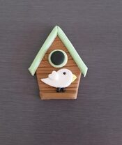 Bird Box Cupcake Topper