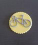 Bike Cupcake and Cake Toppers