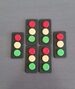 Traffic Light Cupcake Toppers