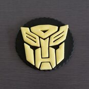 Transformer Cupcake toppers
