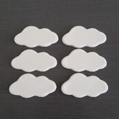 Fondant Cloud Cake toppers
