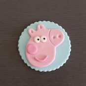 Peppa Pig Cake decortions