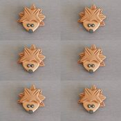 Woodlands cupcake toppers