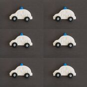 Police Car Cake toppers