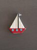 Boat cake toppers