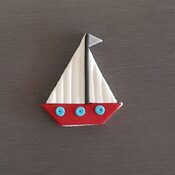 Sail Boat Cupcake decorations