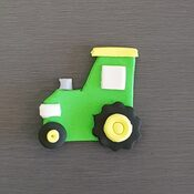 Tractor Cake decoration