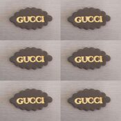 Gucci Cupcake Toppers