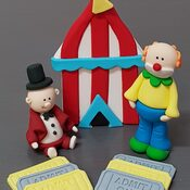 Circus Cake Toppers