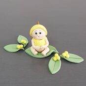 Wattle Baby cupcake Decorations